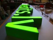 Telpiski 3D gaismas burti